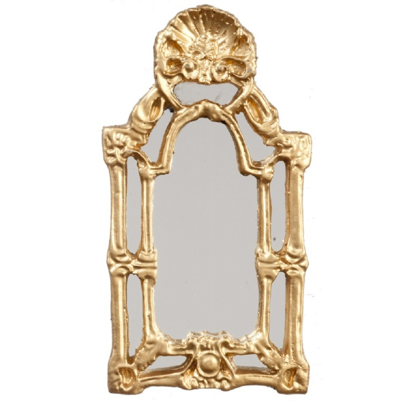 Dolls House Victorian Baroque Wall Mirror Miniature 1:12 Melody Jane Accessory