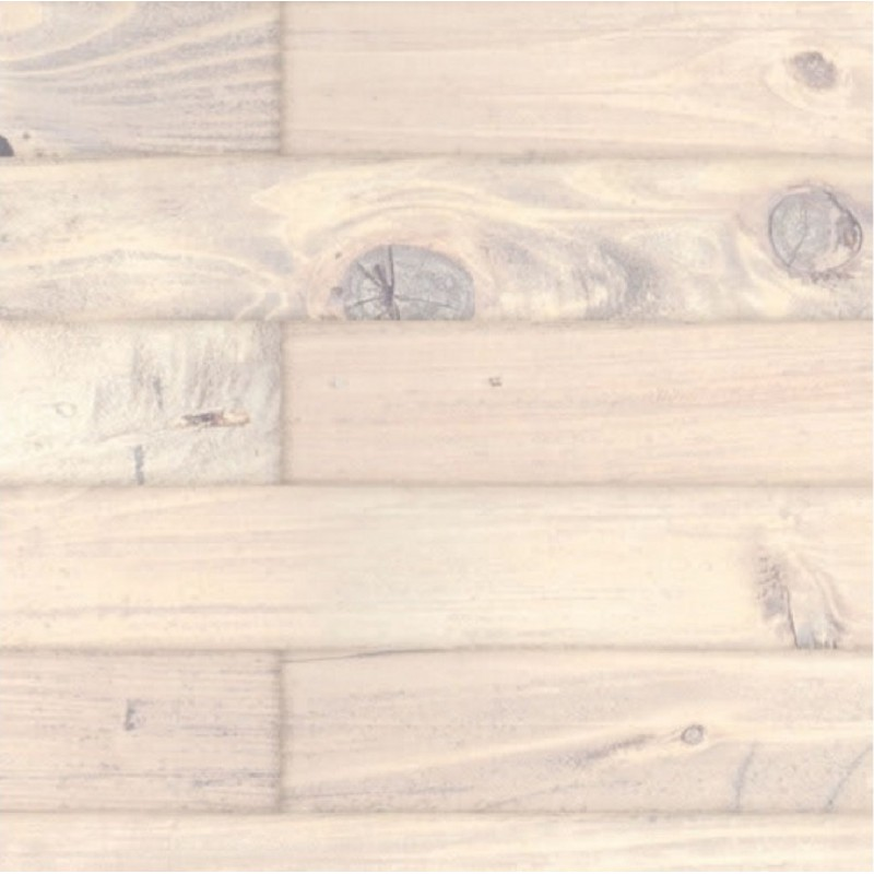 Dolls House White Washed Old Floorboards Miniature Flooring Gloss Card Sheet