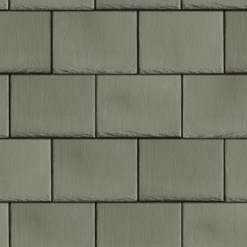 Dolls House Roof Tile Slates Light Grey Miniature 1:12 Scale Card Roofing Sheet