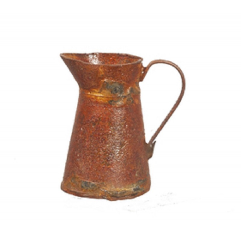 Dolls House Aged Rusty Pitcher Jug Miniature 1:12 Kitchen Accessory