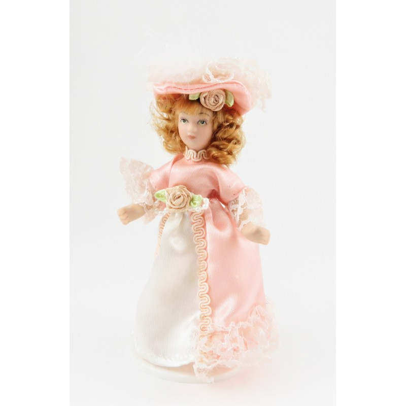 Melody Jane Dolls House Victorian Young Lady Girl Miniature People Porcelain PK