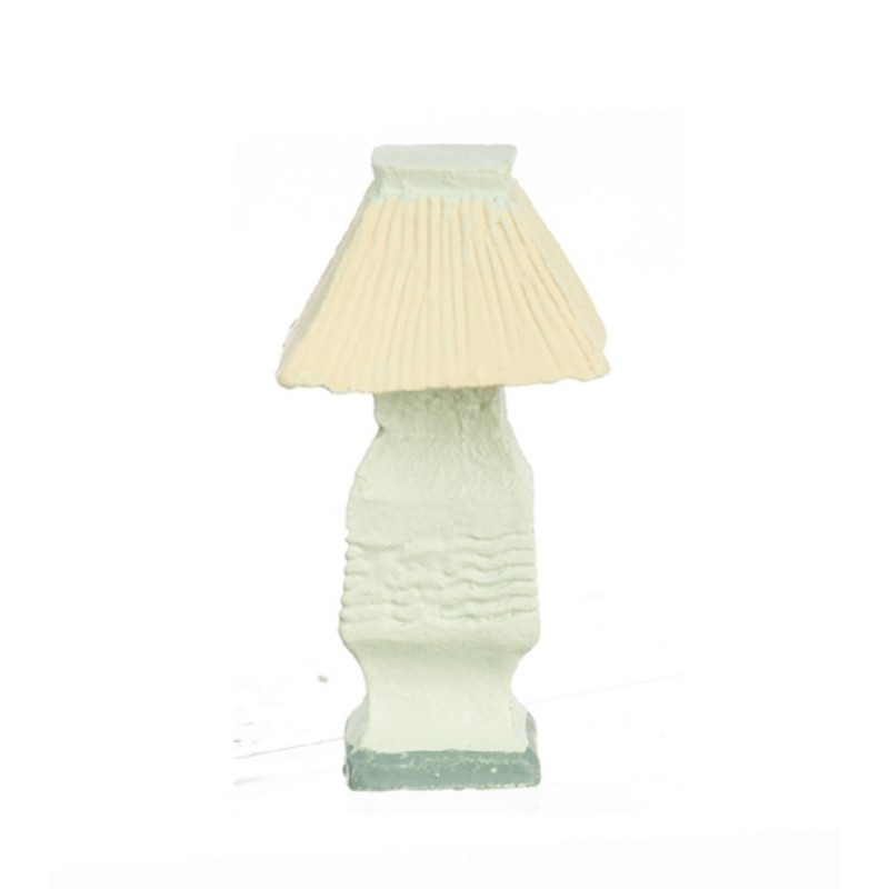 Dolls House Resin Ornamental Table Lamp Miniature Accessory