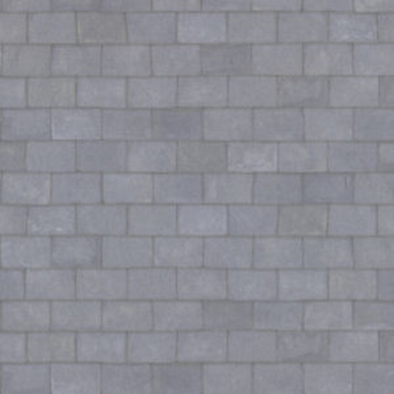 Melody Jane Dolls House Miniature Grey Slate Tile Roof 1:24 Exterior Wallpaper