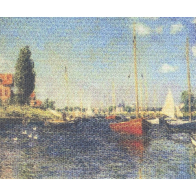 Dolls House Miniature Monet Impressions of the Sea Picture Painting Canvas