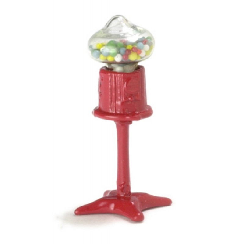 Dolls House Shop Accessory Floor Standing 1:24 Scale Gum Ball Sweet Machine 5375