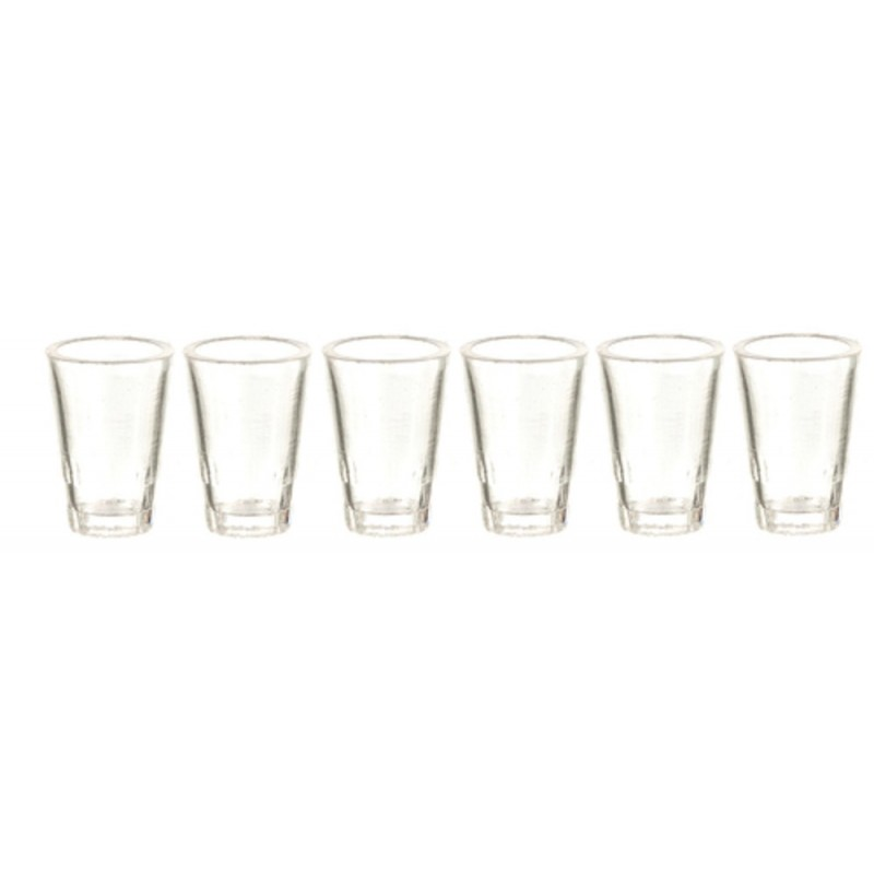 Dolls House Glasses Tumblers Miniature Tableware
