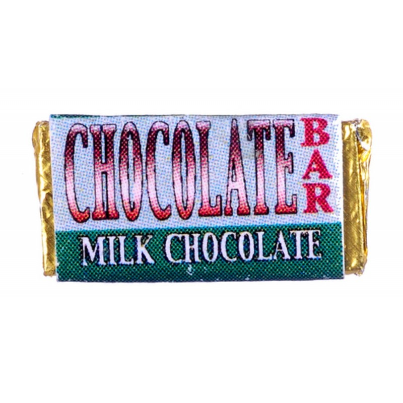 Dolls House Chocolate Bar in Wrapper Miniature Shop Store Accessory