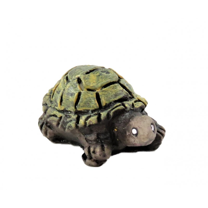 Dolls House Turtle Large Tortoise Miniature Garden Accessory Animal