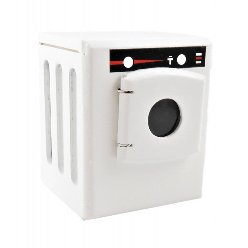 Dolls House Small White Washing Machine Modern Appliance Kitchen Furniture