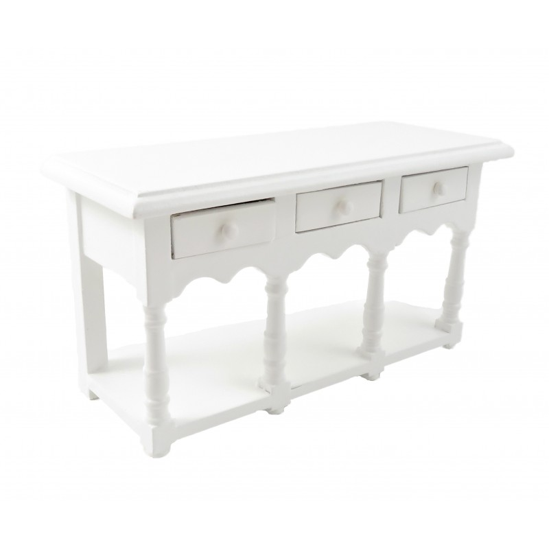 Dolls House White Sideboard Buffet Modern Traditional Dining Room Furniture