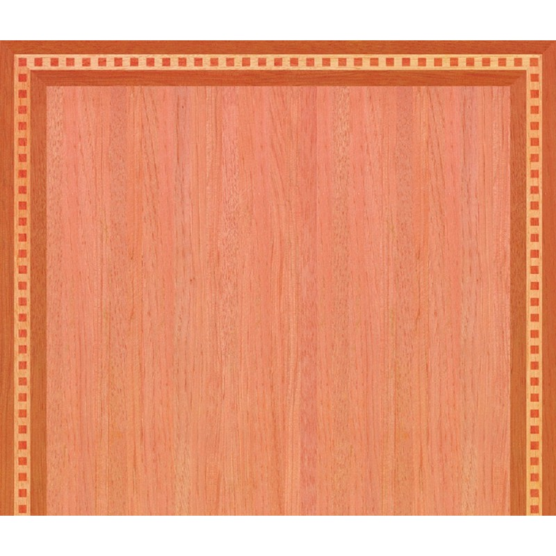 Dolls House Berkeley Square Wood Effect Floor 1:12 Flooring Gloss Card Sheet
