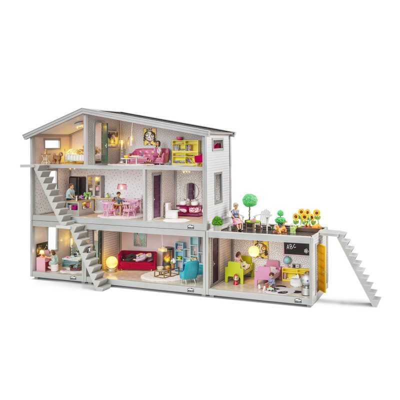 Lundby Life Dolls House 1:18 Scale Swedish Dolls Play House