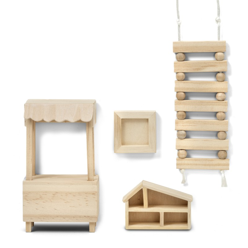 Lundby Dolls House DIY Toys Play Set 1:18 Scale