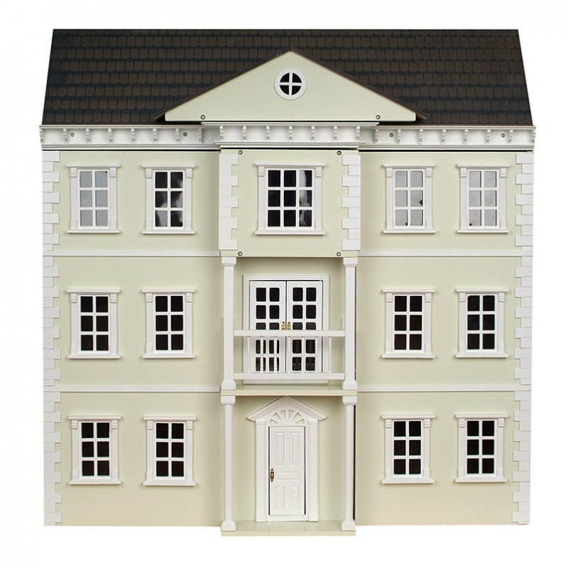 Mayfair Georgian Dolls House Painted Flat Pack Kit 1:12 Scale
