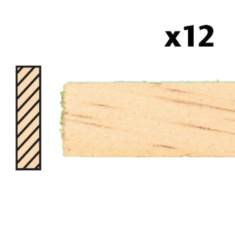 Dolls House Timber Lengths 24 x 9/16