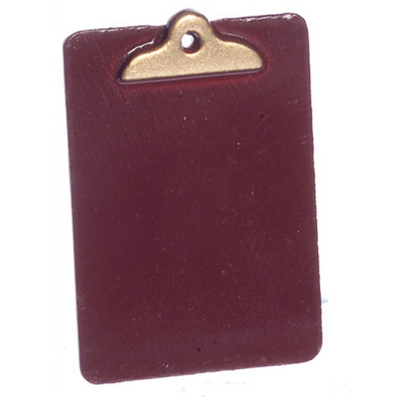 Dolls House Clipboard Clip Board Miniature School Study Office Accessory