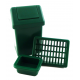 Dolls House Swing Bin Dish Drainer & Washing Up Bowl Kitchen Accessory Set Green