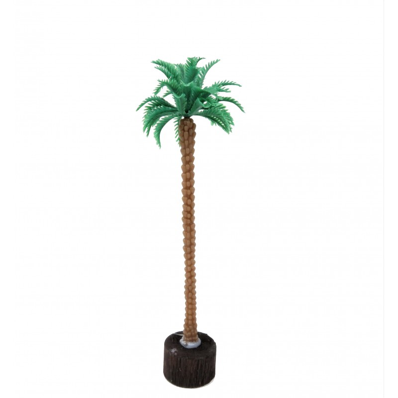 Dolls House Coconut Palm Tree Miniature Garden Scene Accessory Small 4