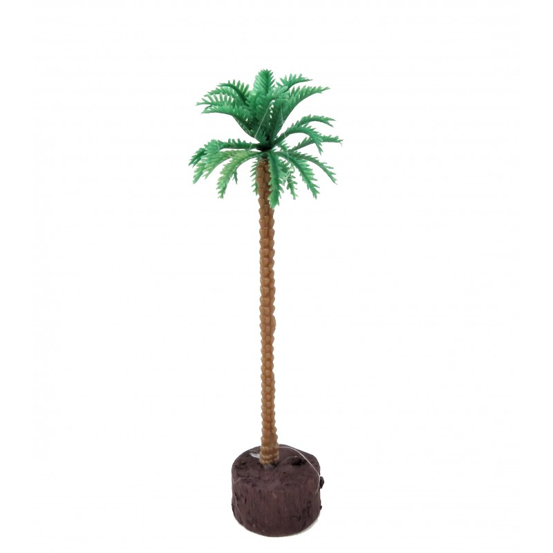 Dolls House Coconut Palm Tree Miniature Garden Scene Accessory Medium 6