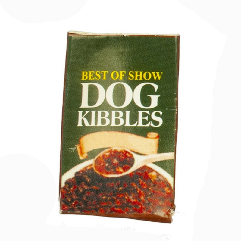 Dolls House Bag of Dog Food Miniature 1:12 Scale Pet Shop Kitchen Accessory