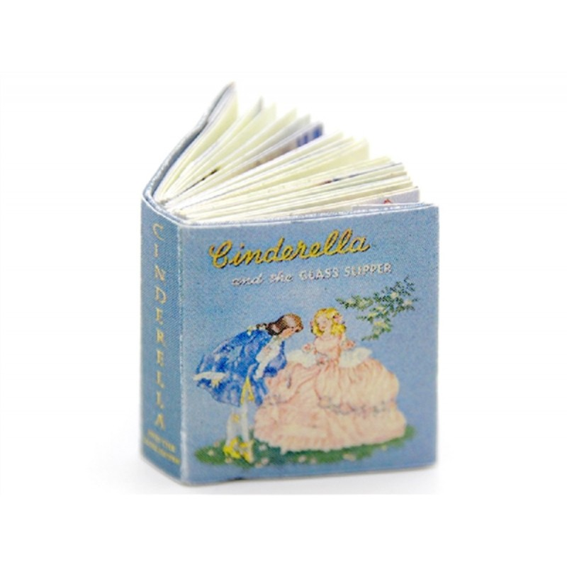 Dolls House Illustrated Children's Story Book 'Cinderella' Nursery Accessory