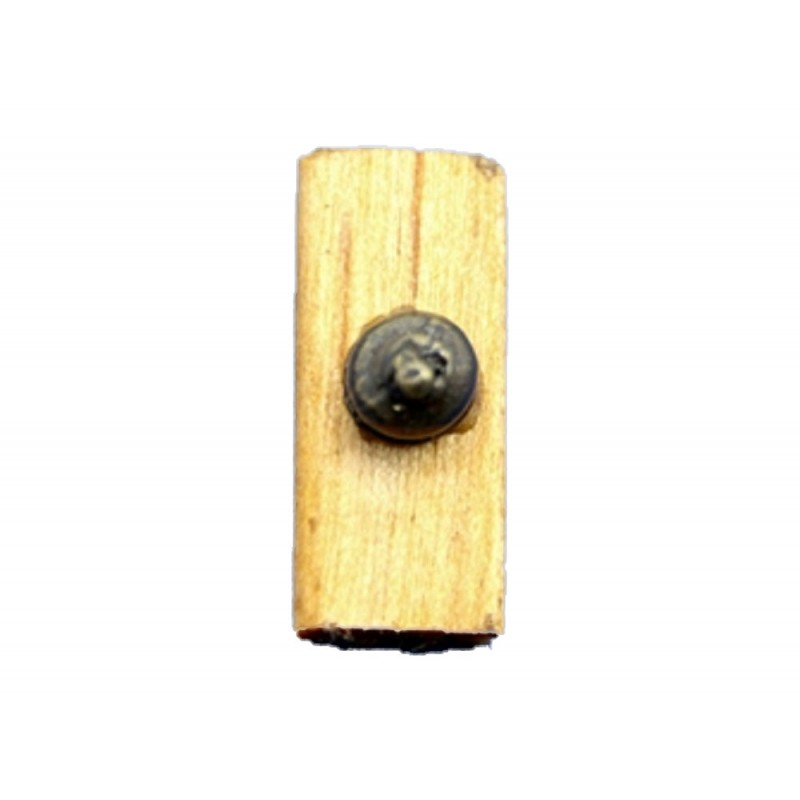 Dolls House Traditional Single Light Switch DIY Fittings Hardware 1:12 Accessory