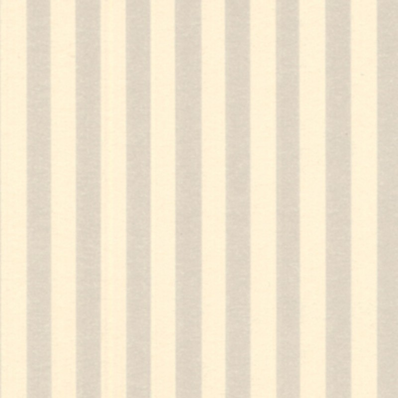 Dolls House Cream Marusia Stripe Miniature Print 1:12 Wallpaper 3 Sheets