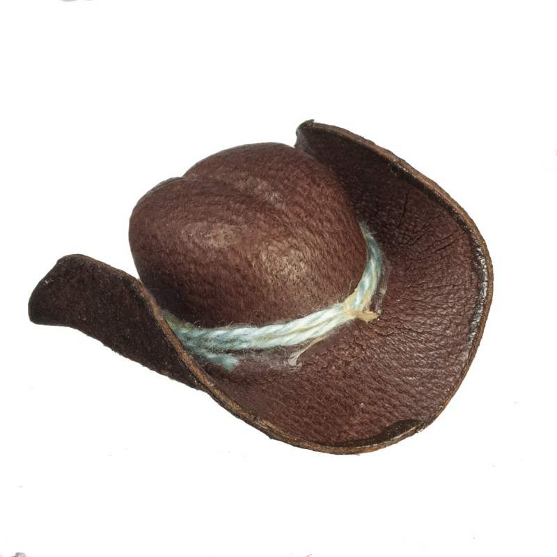 Dolls House Cowboy Hat Stetson Miniature Hall Ranch Accessory