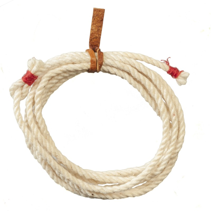 Dolls House Cowboy Lasso Lariat Rope Miniature Western Ranch Accessory 1:12