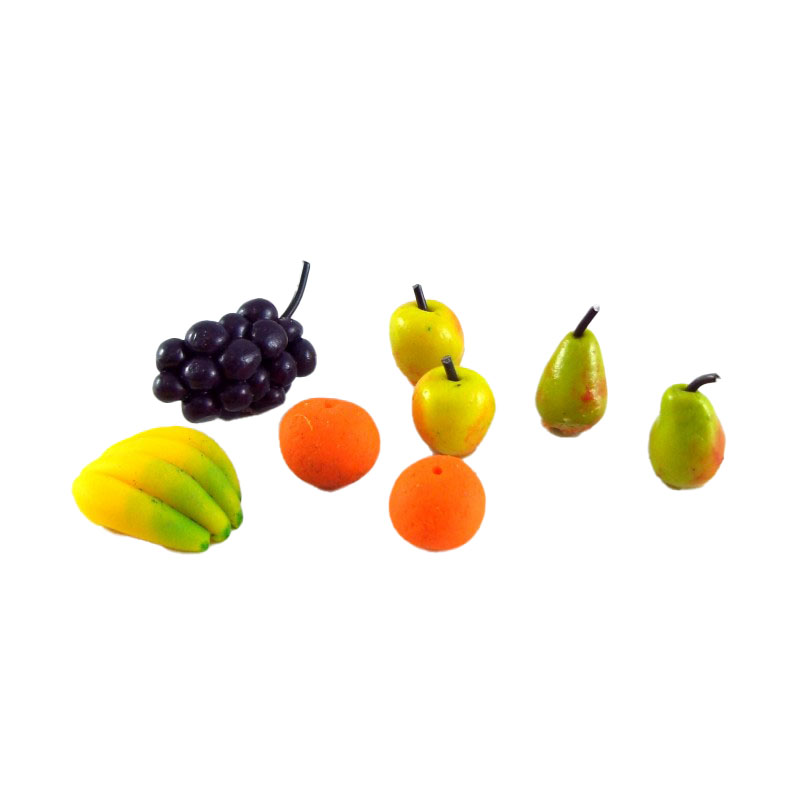 Dolls House Miniature 1:12 Scale Handmade Selection of Mixed Fruit for Display