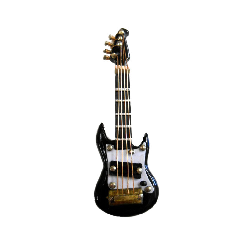 Dolls House Miniature 1:16 Scale Music Room Accessory Electric Guitar