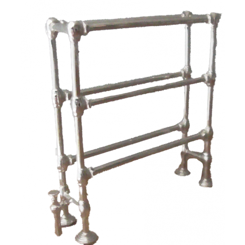 Dolls House Metal Double Towel Rail Kit Miniature 1:12 Can Be Painted