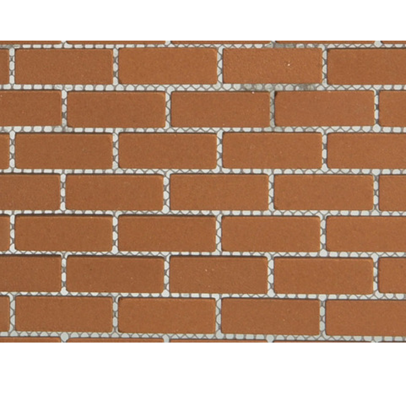 Dolls House Mesh Sheet of Genuine Kiln-Fired Real Model Bricks DIY Miniature