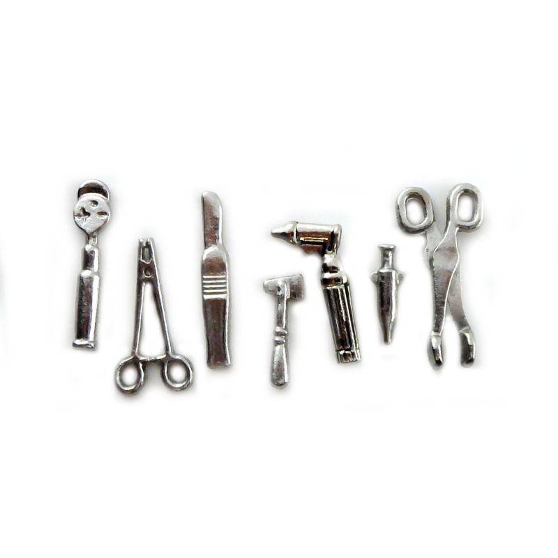 Melody Jane Dolls House Accessory Medical Instruments Doctor Nurse Equiptment