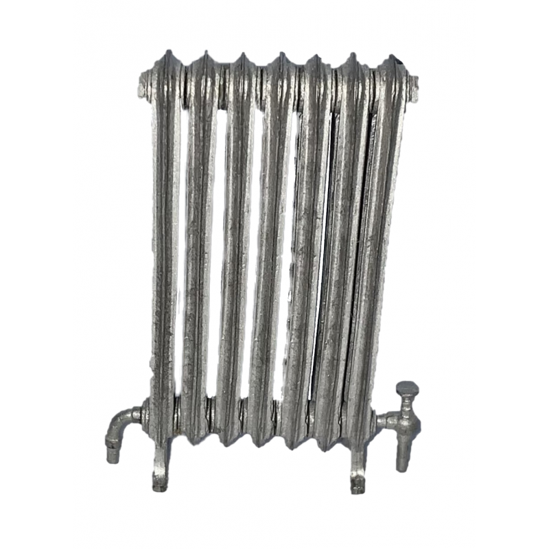 Dolls House Metal Victorian Radiator Kit Miniature 1:12 Scale Can Be Painted