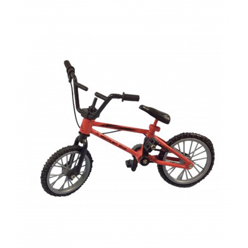 Dolls House Red Mountian Bike Bicycle Miniature Garden Accessory 1:12 Scale