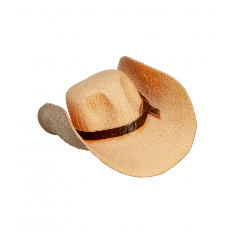 Dolls House Tan Brown Cowboy Hat Stetson Miniature Hall Ranch Accessory 1:12
