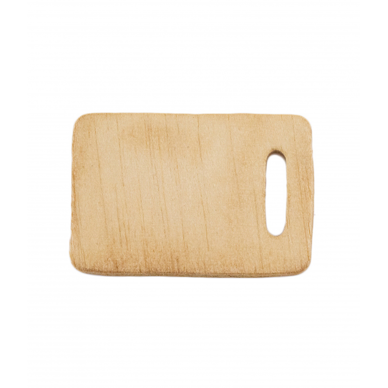 Dolls House Wooden Chopping Cutting Board Miniature Kitchen Food Accessory 1:12